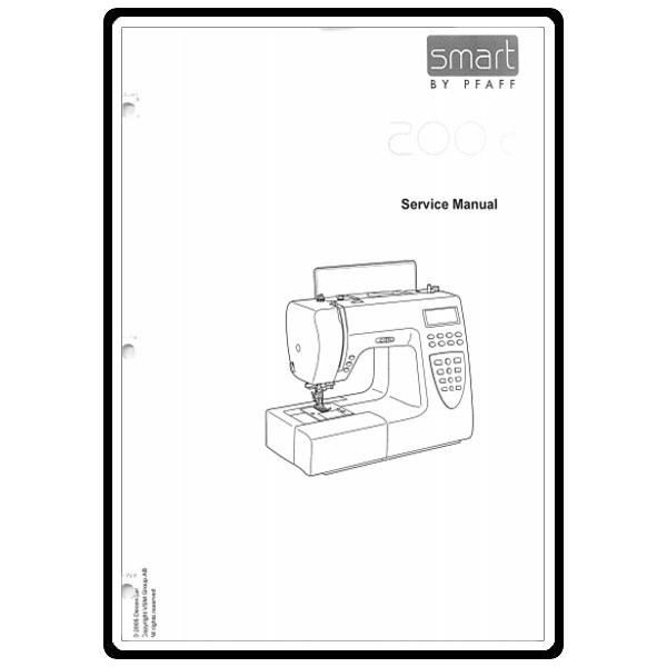 Service Manual, Pfaff 200C: Sewing Parts Online