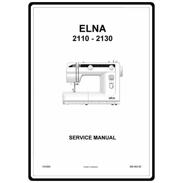 Service Manual, Elna 2110 : Sewing Parts Online