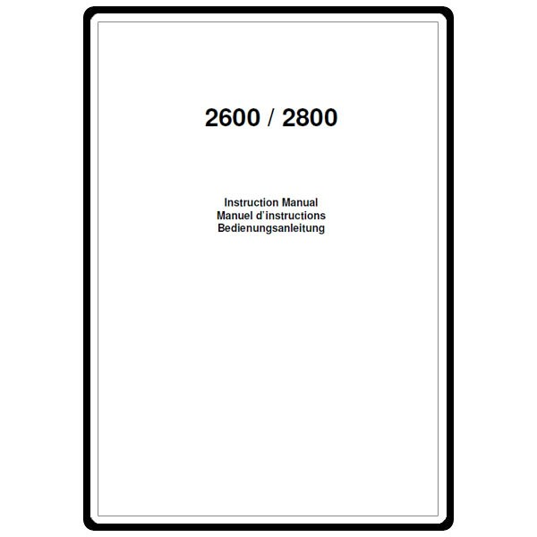 Instruction Manual, Elna 2800 : Sewing Parts Online