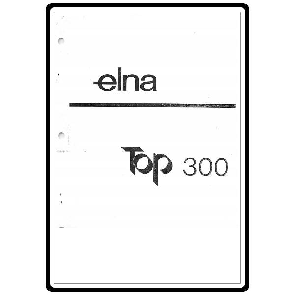 Instruction Manual, Elna Top 300 : Sewing Parts Online