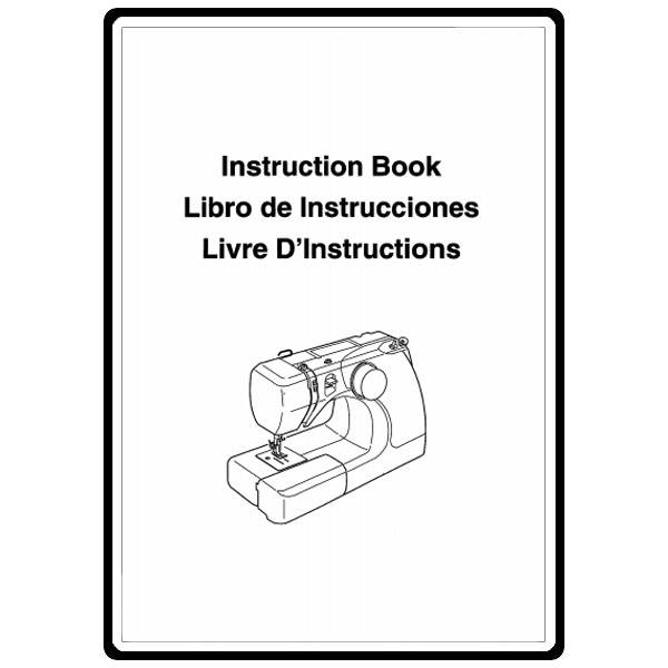 Instruction Manual, Janome 3125 : Sewing Parts Online