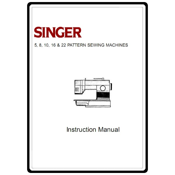 Instruction Manual, Singer 4622 : Sewing Parts Online