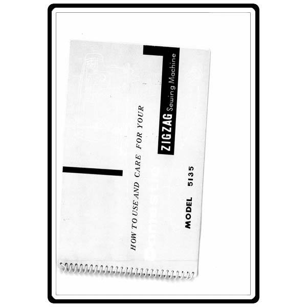 Instruction Manual, White 5135 : Sewing Parts Online
