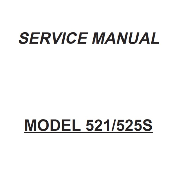 Service Manual, Janome 521 : Sewing Parts Online