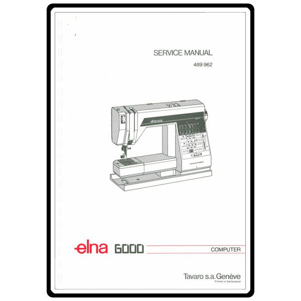 Service Manual, Elna 6000 : Sewing Parts Online
