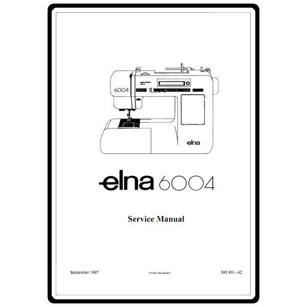 Service Manual, Elna 6004 : Sewing Parts Online