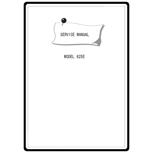 Service Manual, Janome 625E : Sewing Parts Online