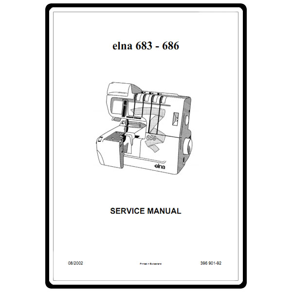 Service Manual, Elna 683: Sewing Parts Online