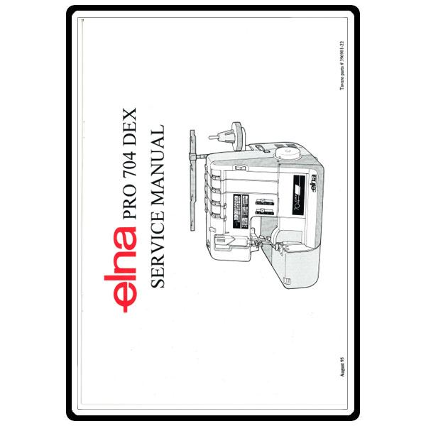 Service Manual, Elna 704 : Sewing Parts Online