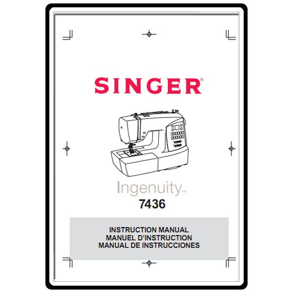 Instruction Manual, Singer 7436 : Sewing Parts Online