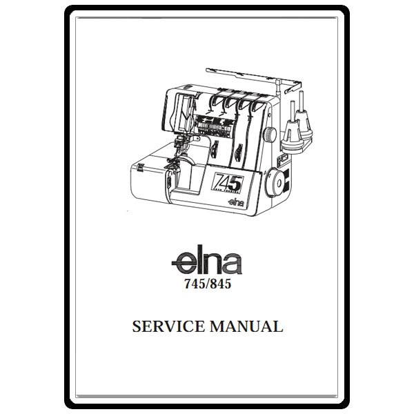 Service Manual, Elna 745 : Sewing Parts Online
