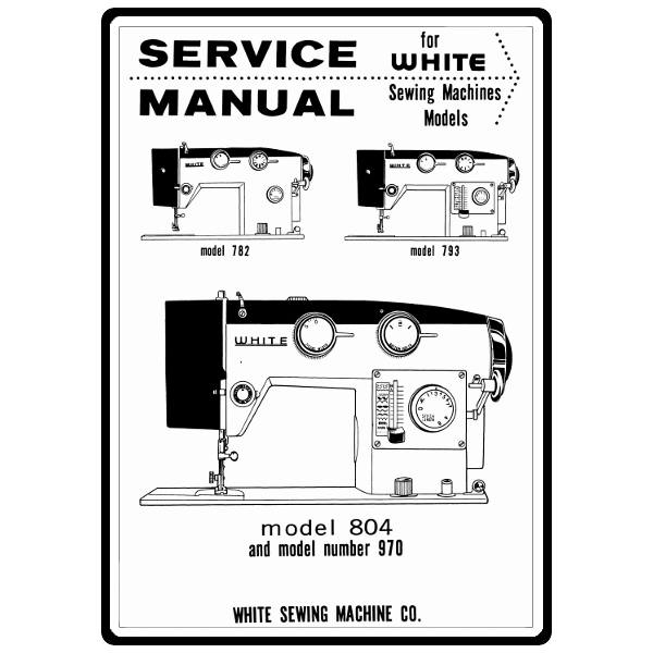 Service Manual, White 793: Sewing Parts Online