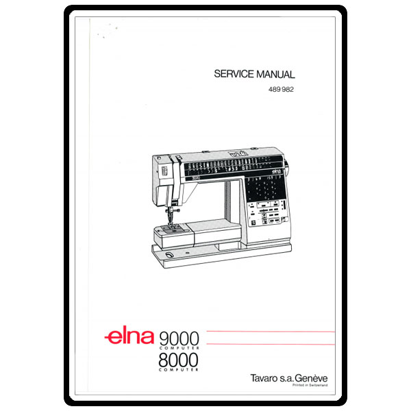 Service Manual, Elna 8000 Computer : Sewing Parts Online