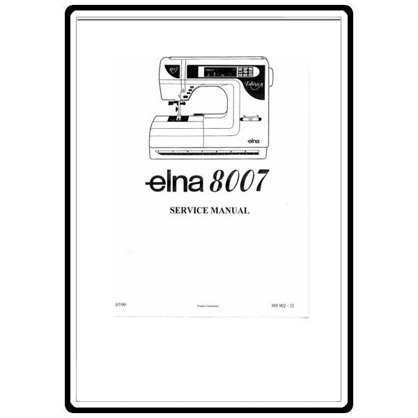 Service Manual, Elna 8007: Sewing Parts Online