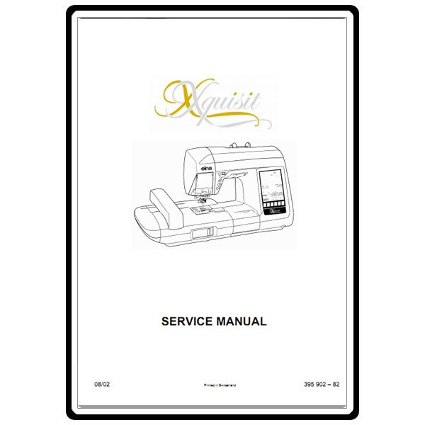 Service Manual, Elna 9010 : Sewing Parts Online