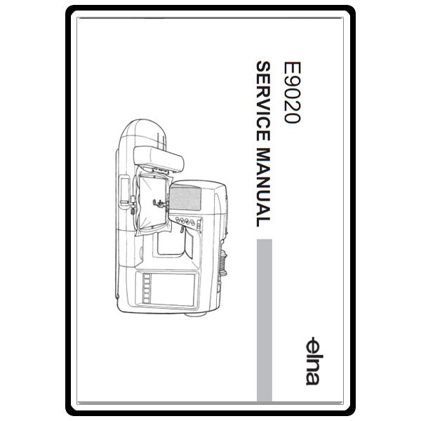 Service Manual, Elna 9020 : Sewing Parts Online