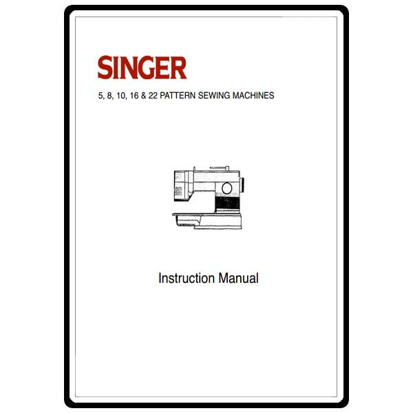 Instruction Manual, Singer 9110 : Sewing Parts Online