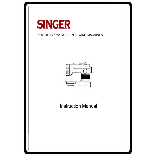Instruction Manual, Singer 9032 : Sewing Parts Online