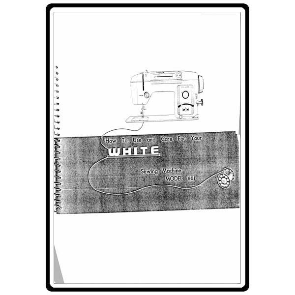 Instruction Manual, White 951 : Sewing Parts Online