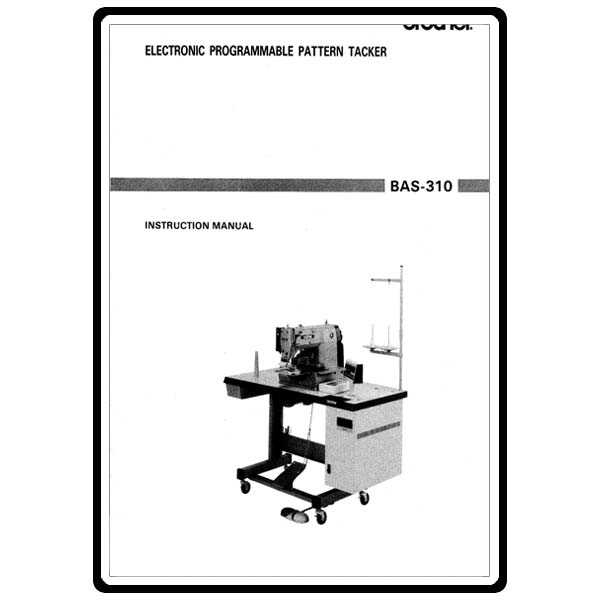 Instruction Manual, Brother BAS-310 : Sewing Parts Online