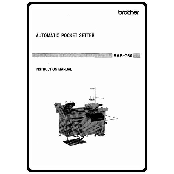 Instruction Manual, Brother BAS-760 : Sewing Parts Online