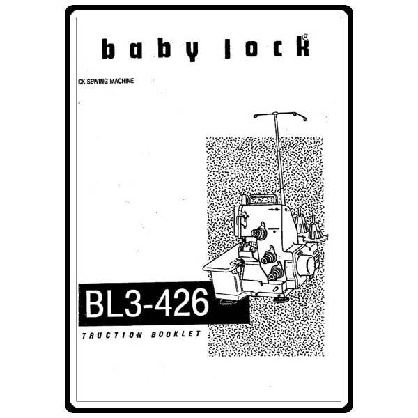 Instruction Manual, Babylock BL3-426 : Sewing Parts Online