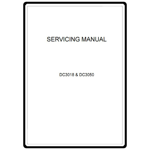 Service Manual, Janome DC3050 : Sewing Parts Online