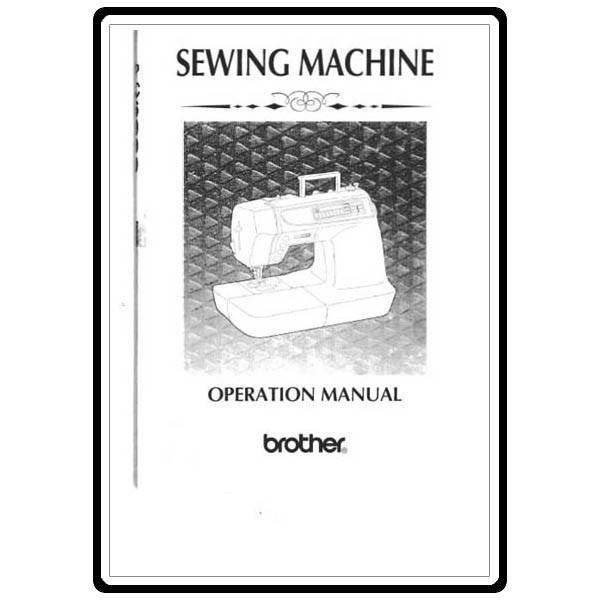 Instruction Manual, Brother PC-6000 : Sewing Parts Online