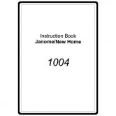 Janome 1004 Sewing Machine Parts