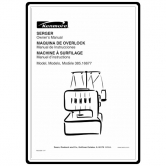 Kenmore 385.16677700 Serger Parts