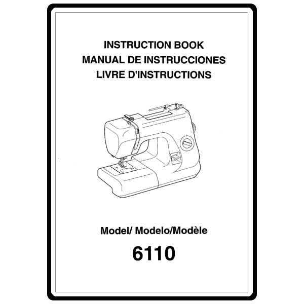 Instruction Manual, Necchi 6110 : Sewing Parts Online