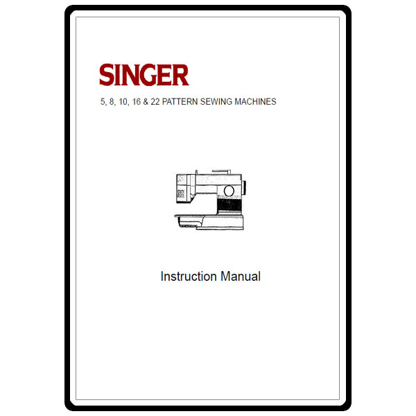 Instruction Manual, Singer 4552 : Sewing Parts Online