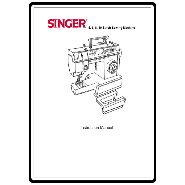 Instruction Manual, Singer 57820 : Sewing Parts Online