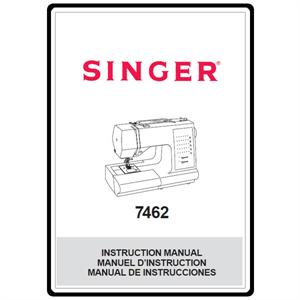 Instruction Manual, Singer 7462 : Sewing Parts Online