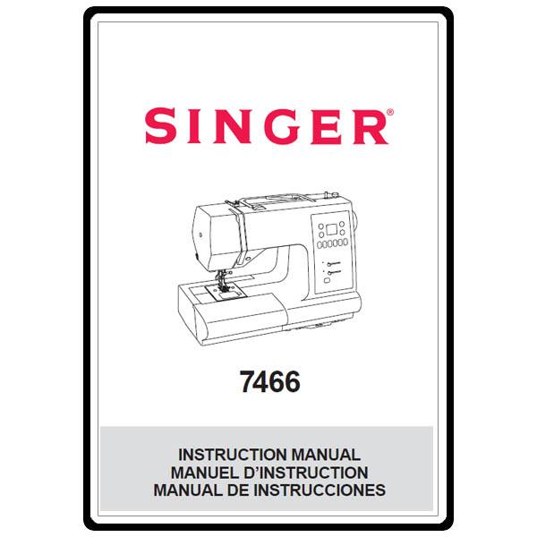 Instruction Manual, Singer 7466 : Sewing Parts Online