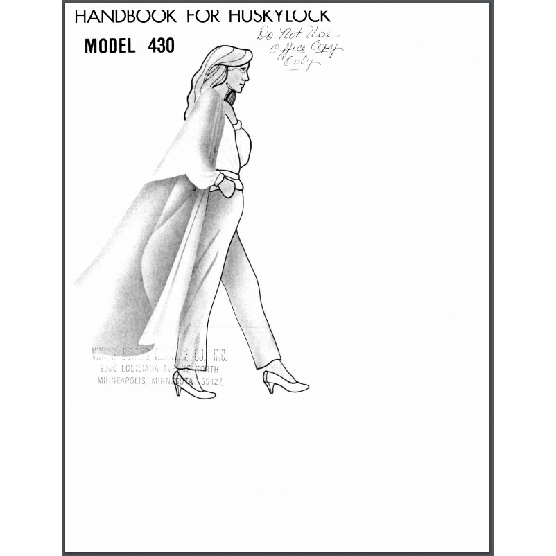 Instruction Manual, Viking Huskylock 430 : Sewing Parts Online