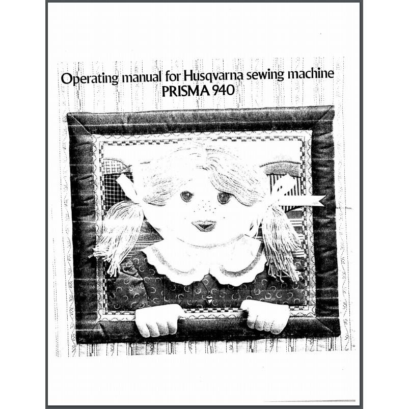 Instruction Manual, Viking Prisma 940 : Sewing Parts Online