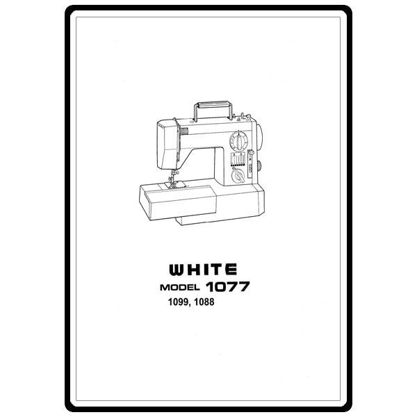 Instruction Manual, White 1088 : Sewing Parts Online