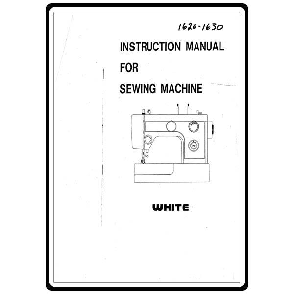 Instruction Manual, White 1620 : Sewing Parts Online