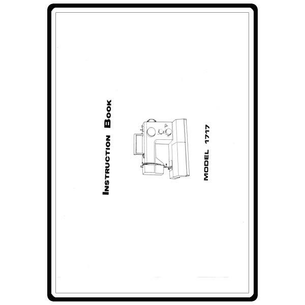 Instruction Manual, White 1717 : Sewing Parts Online
