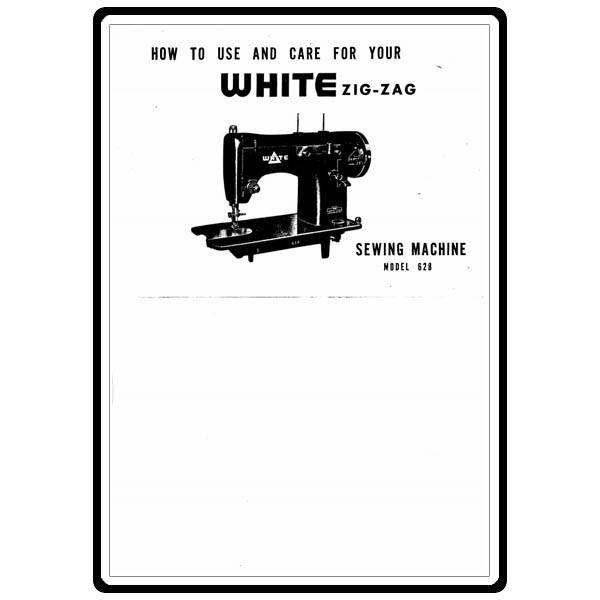 Instruction Manual, White 628 : Sewing Parts Online