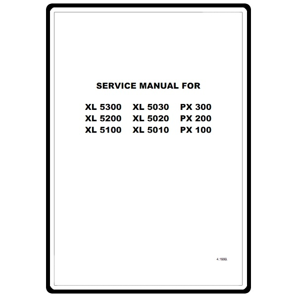 Service Manual, Brother PX100 : Sewing Parts Online
