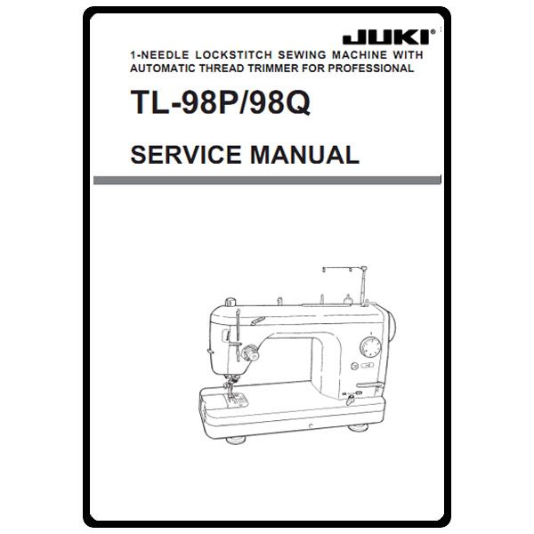 Service Manual, Juki TL-98Q : Sewing Parts Online