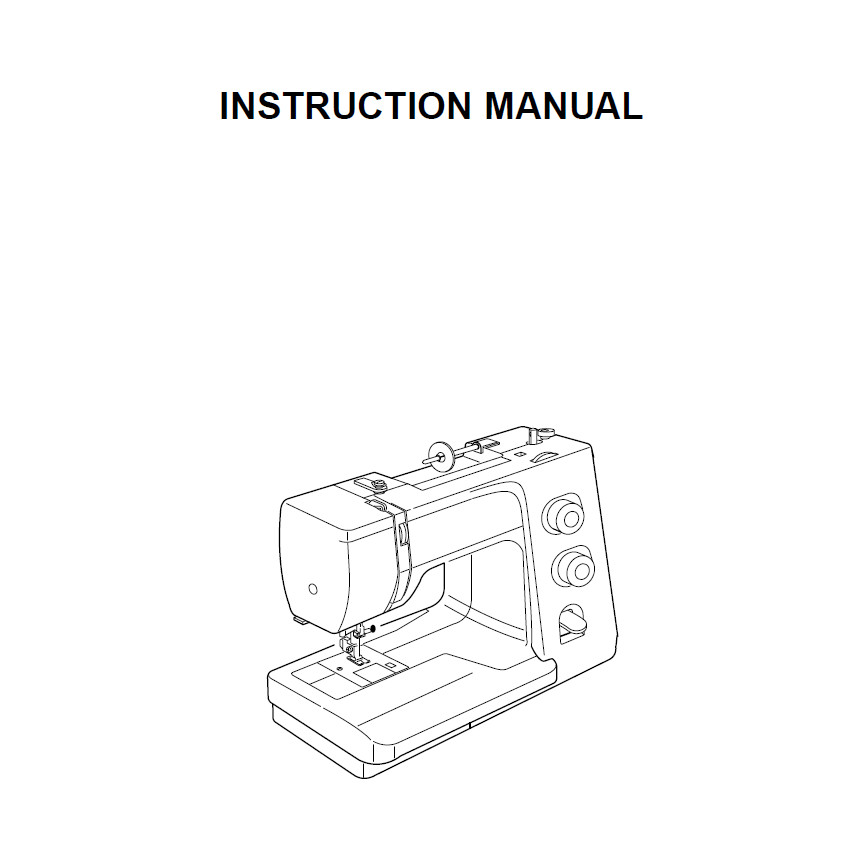 Instruction Manual, Janome Harmony 1017 : Sewing Parts Online