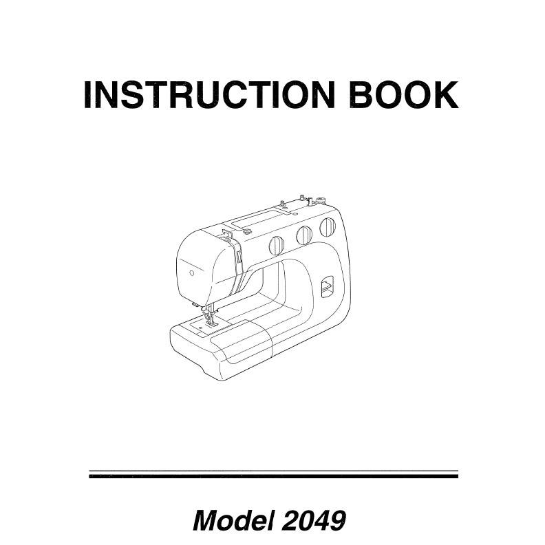 Instruction Manual, Janome 2049: Sewing Parts Online