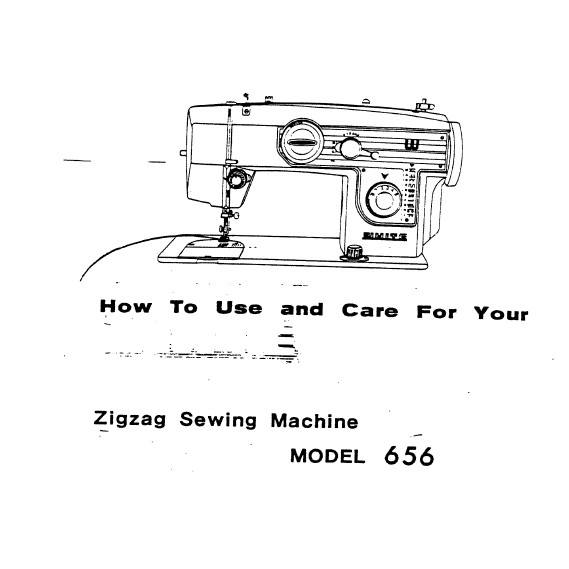 Instruction Manual, White 656 : Sewing Parts Online