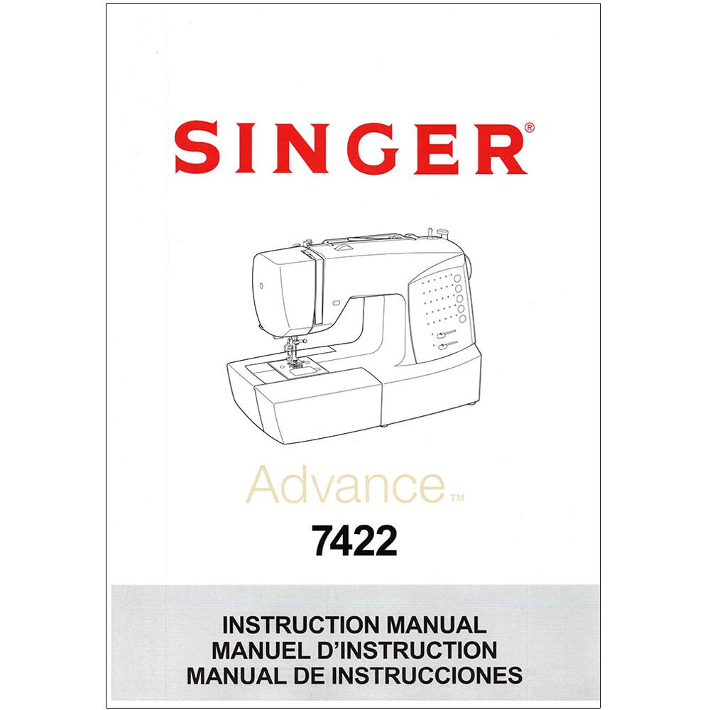 Instruction Manual, Singer 7422 : Sewing Parts Online