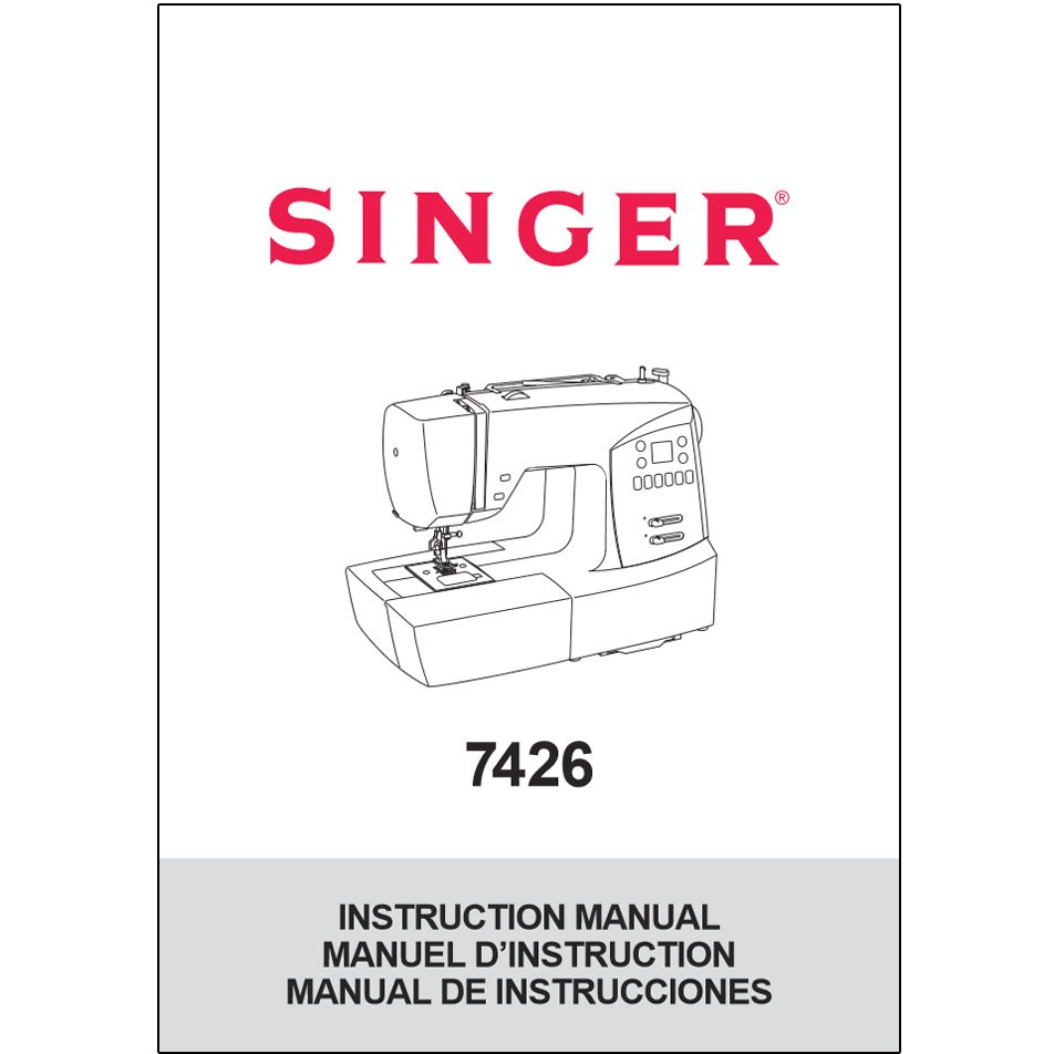 Instruction Manual, Singer 7426 : Sewing Parts Online