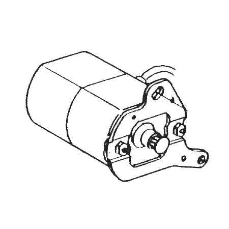 Motor Assembly 125V, Janome #505623005 : Sewing Parts Online