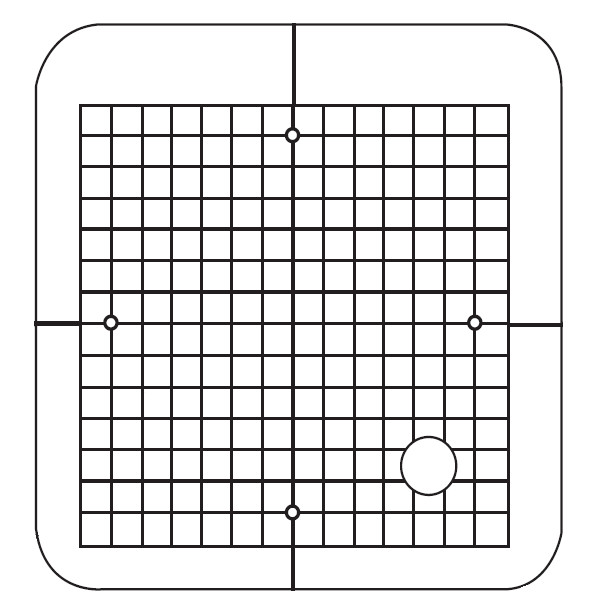 SQ14 Template Grid, Janome #859823302 : Sewing Parts Online